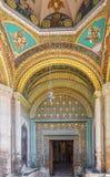 Dekoration des Eingangs zur alten Kirche von Echmiadzin Cathe Lizenzfreies Stockbild