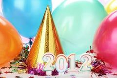 Dekoration des neuen Jahr-2012 Stockfotos