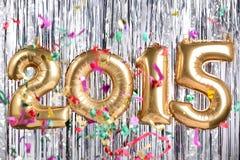 Dekoration des neuen Jahres 2015 Lizenzfreie Stockfotos