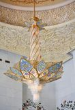 Dekoration des Scheichs Zayed Mosque. Abu Dhabi Lizenzfreie Stockfotos