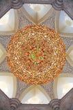 Dekoration des Scheichs Zayed Mosque. Abu Dhabi Lizenzfreie Stockbilder
