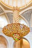 Dekoration des Scheichs Zayed Mosque. Abu Dhabi Stockfoto