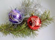 Dekoration des Weihnachtsneuen Jahres Lizenzfreies Stockfoto