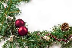 Dekoration do Natal Fotos de Stock