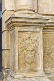 Dekoration in einer Kirche Lizenzfreie Stockbilder