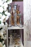 Dekoration für das Hochzeitsfestival in Ukraine stockfoto