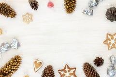 Dekoration für die Weihnachtsfeier Lizenzfreies Stockbild