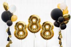 Dekoration für Feier 888 Lizenzfreies Stockbild