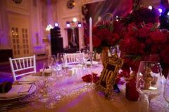 Dekoration am Hochzeitstag Lizenzfreies Stockfoto