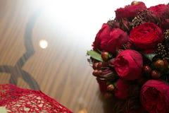 Dekoration am Hochzeitstag Lizenzfreie Stockfotos