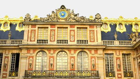 Dekoration an Versailles-Palast stock footage