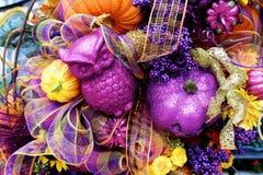 Dekoration zu Halloween Stockfoto