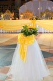 Dekorationen für Heiratsfeier Lizenzfreie Stockbilder