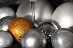 Dekorationen für Weihnachten Stockfoto