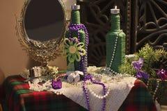 Dekorationen für Weihnachten und neues Jahr Stockbilder
