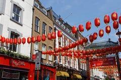 Dekorationen in Stadt Londons China Lizenzfreie Stockbilder
