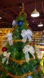 Dekorations-Weihnachtsbaum Lizenzfreies Stockbild