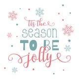 Dekorations-Weihnachtstext Lizenzfreies Stockfoto