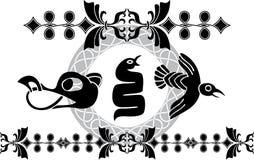 Dekorationwikinger-Art Lizenzfreies Stockfoto