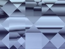 Dekorativ abstrakt modern fyrkantig modell Arkivfoton