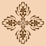 Dekorativ arg monokrom Royaltyfri Fotografi