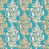 Den seamless arabesquen mönstrar Royaltyfri Foto