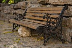 dekorativ bänk Royaltyfri Foto