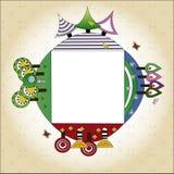 dekorativ bakgrund Fotografering för Bildbyråer