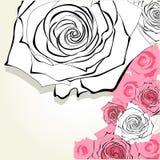 Dekorativ bakgrund Royaltyfria Bilder