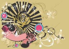 dekorativ bakgrund vektor illustrationer