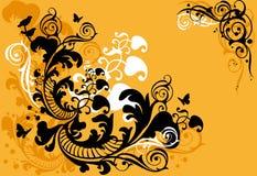 dekorativ bakgrund Royaltyfri Bild
