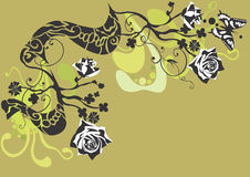 dekorativ bakgrund Arkivbild
