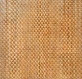 Dekorativ bakgrund av brun gnäggande s för hemslöjdvävtextur royaltyfria bilder