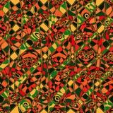 Dekorativ bakgrund för sömlös abstrakt mosaik Royaltyfri Fotografi