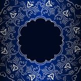 Dekorativ bakgrund för vektortappning Royaltyfri Bild