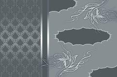 Dekorativ bakgrund med utrymme för texten Arkivbild