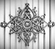 dekorativ bakgrundsmetall royaltyfri illustrationer
