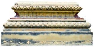 Dekorativ beståndsdel av en domkyrka, århundrade 17 Royaltyfri Bild