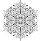 Dekorativ beståndsdel för design stock illustrationer
