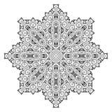 Dekorativ beståndsdel för design dekorativ elementtappning Arkivbilder