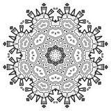 Dekorativ beståndsdel för design dekorativ elementtappning Royaltyfria Bilder