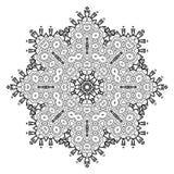 Dekorativ beståndsdel för design dekorativ elementtappning Arkivbild