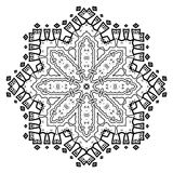 Dekorativ beståndsdel för design dekorativ elementtappning Fotografering för Bildbyråer