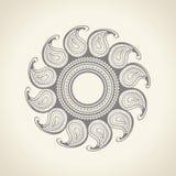 Dekorativ beståndsdel i orientalisk stil Arkivbild