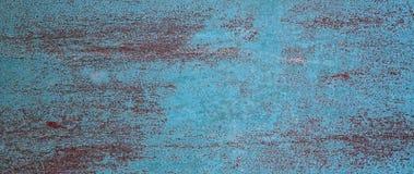 Dekorativ blå röd bakgrund för abstrakt Grunge Arkivfoto