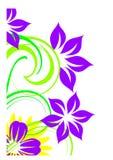 dekorativ blomma Fotografering för Bildbyråer