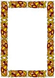 dekorativ celtic ram Arkivfoton