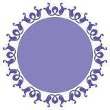 Dekorativ cirkeldesign Royaltyfria Foton