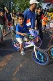 Dekorativ cykel Fotografering för Bildbyråer