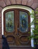 dekorativ dörröppning Royaltyfri Fotografi